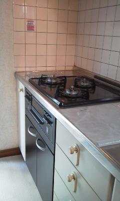 2015/11/4 システムキッチン オーブン撤去・キャビネット設置