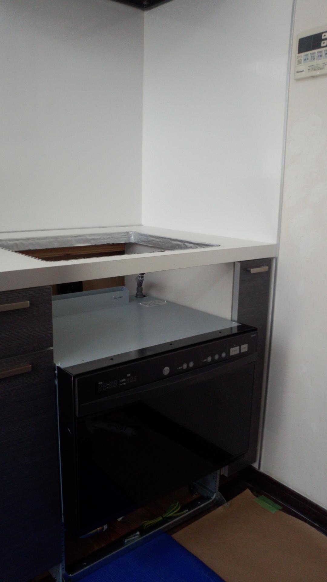 オーブン設置